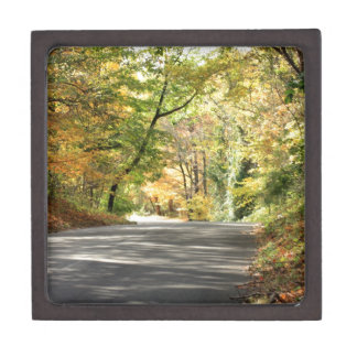 Fall in New England Back Road Premium Gift Box