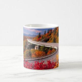 Fall in North Caroline Blue Ridge Parkway mug