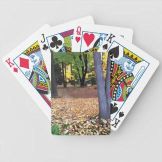 Fall in Ohio Poker Deck