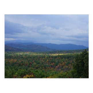 Fall in the Blue Ridge Mountains Postcard