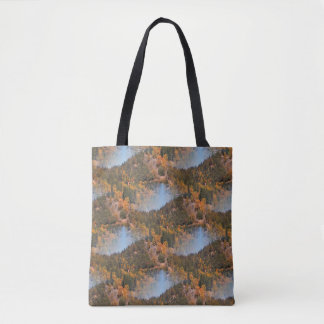 Fall in the mountains... tote bag