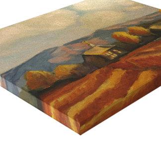 Fall in Tierra Amarilla, New Mexico Canvas Print