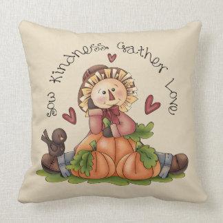 Fall Inspirational Throw Pillow
