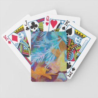 Fall Into Winter Bicycle Playing Cards