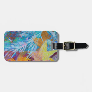 Fall Into Winter Luggage Tag