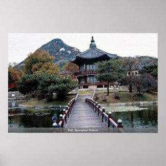 Fall, Kyongbok Palace Poster