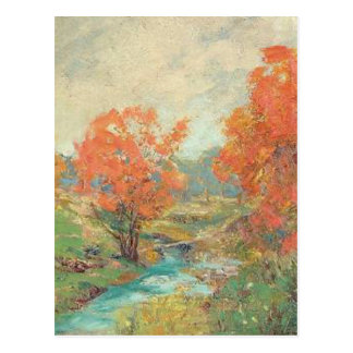 Fall Landscape - Midwest, USA Postcard