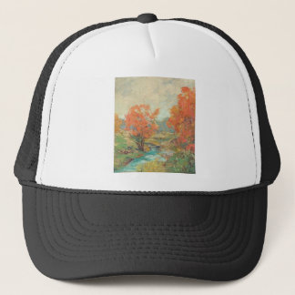 Fall Landscape - Midwest, USA Trucker Hat