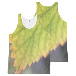 Fall Leaf All-Over-Print Tank Top