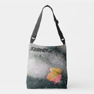 Fall leaf cross-body bag