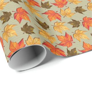 Fall Leafs Colorful Seamless Pattern