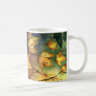 Fall Leaves 20 Nature Design Coffee Mug