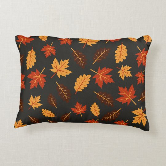 Fall Leaves Accent Pillow