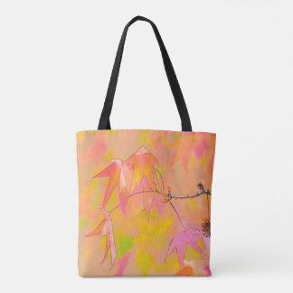 Fall Leaves Art tote bag