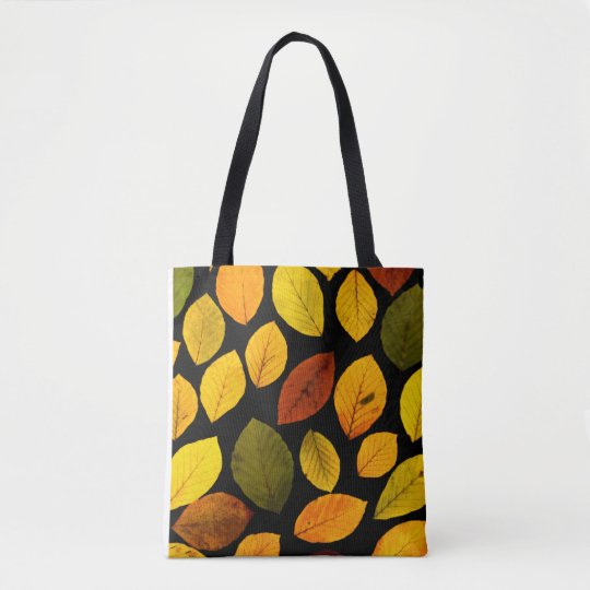 Fall Leaves Autumn Tote Bag