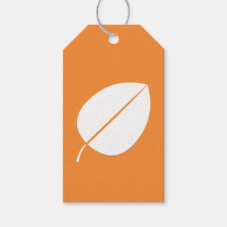 Fall Leaves in Orange Gift Tag Pack Of Gift Tags