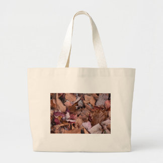 Fall leaves in the Smoky Mountains Large Tote Bag