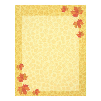 Fall Leaves Letterhead