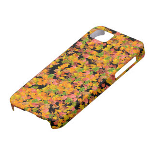 Fall Leaves Pattern iPhone 5 Cover