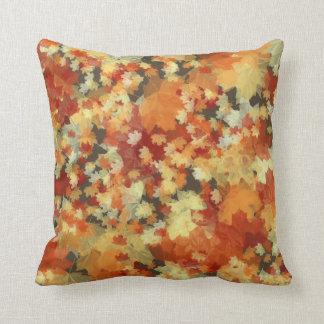 Fall leaves pillow