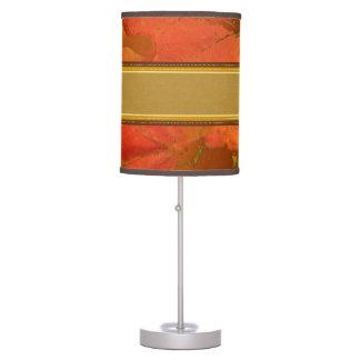 Fall Leaves Table Lamp