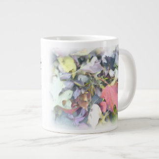 Fall Leaves Warm Heart Warm Hands Hot Soup Large Coffee Mug