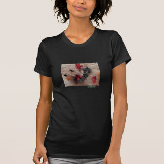 Fall Leaves Westie Shirt