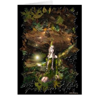 Fall Magic Fairy Card