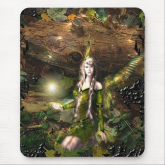 Fall Magic Fairy Mouse Pad