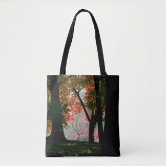 Fall Male Tree Tote Bag