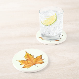 Fall Maple Leaf Coaster