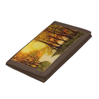 Fall Morning wallet