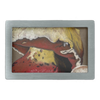 Fall Mushroom Autumn Leaves Rectangular Belt Buckles