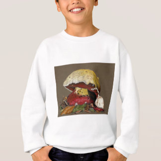 Fall Mushroom Autumn Leaves Sweatshirt