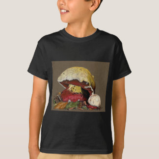 Fall Mushroom Autumn Leaves T-Shirt