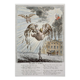 Fall of Icarus, 1807 Posters