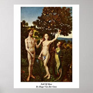 Fall Of Man By Hugo Van Der Goes Poster