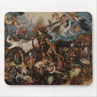 Fall of the Rebel Angels by Pieter Bruegel Mouse Pad