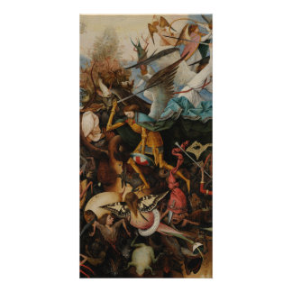 Fall of the Rebel Angels by Pieter Bruegel Personalized Photo Card