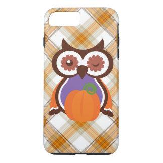 Fall owl iPhone 7 plus tough case