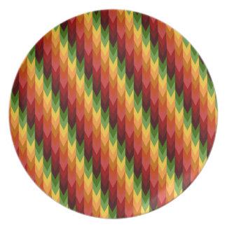 Fall Pattern NO.1: Melamine Plate