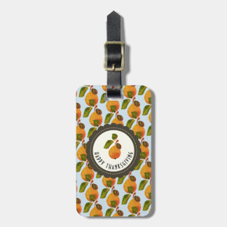 Fall Pears Fruit Thanksgiving Luggage Tag