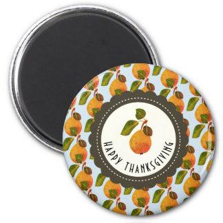 Fall Pears Fruit Thanksgiving Magnet