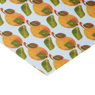 Fall Pears Fruit Tissue Paper