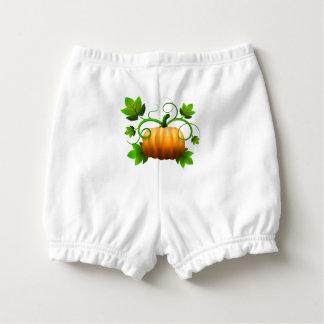 Fall Pumpkin Diaper Cover