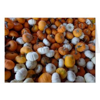 Fall Pumpkin note card