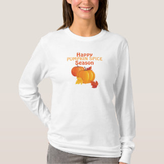 Fall Pumpkin Spice Basic Long Sleeve T-Shirt