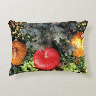Fall Pumpkins Decorative Pillow