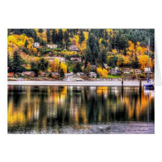 Fall Reflection Card