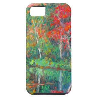Fall Reflections at Peaks of Otter iPhone 5 Cases